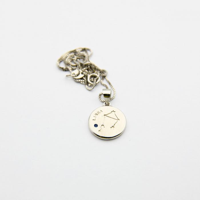 Colier Zodiac BALANTA / Libra - Argint 925 3