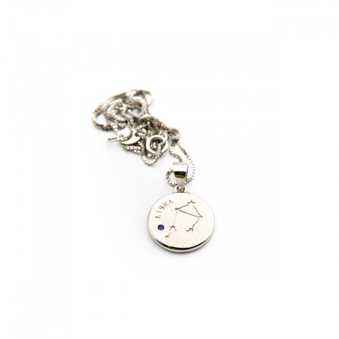 Colier Zodiac BALANTA / Libra - Argint 925 1