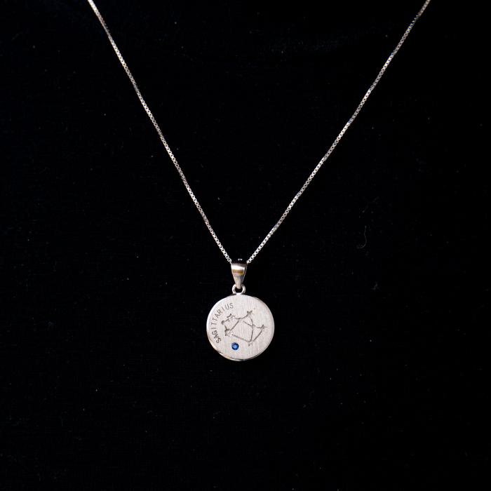 Colier Zodiac SAGETATOR / Sagittarius - Argint 925 0