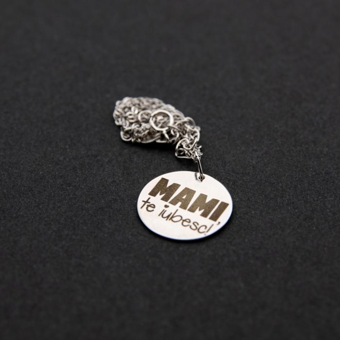 Colier MAMI, TE IUBESC - Argint 925 placat cu aur [3]