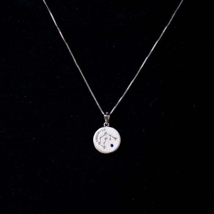 Colier Zodiac VARSATOR / Aquarius - Argint 925 0