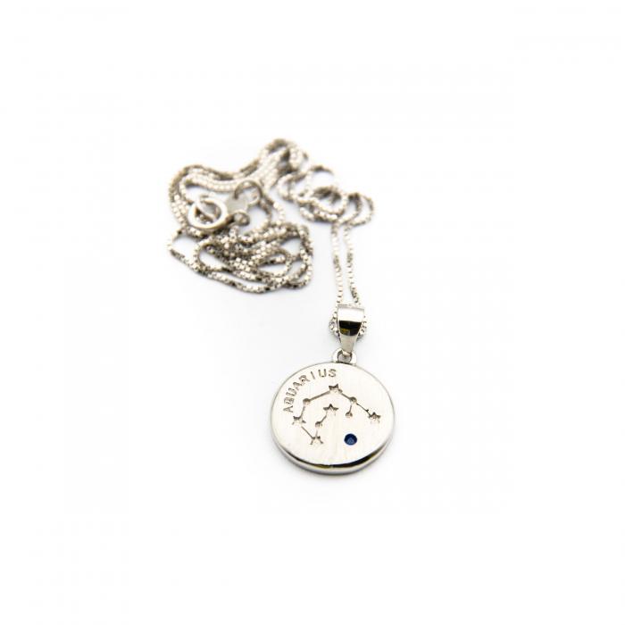 Colier Zodiac VARSATOR / Aquarius - Argint 925 1