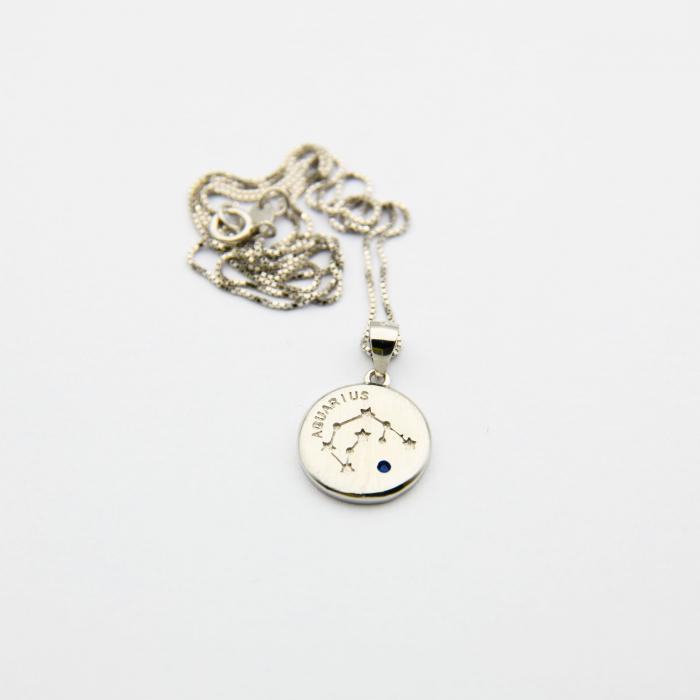 Colier Zodiac VARSATOR / Aquarius - Argint 925 3