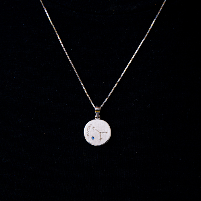 Colier Zodiac RAC / Cancer - Argint 925 0