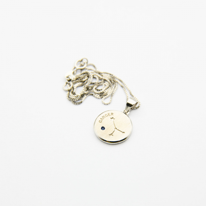 Colier Zodiac RAC / Cancer - Argint 925 3