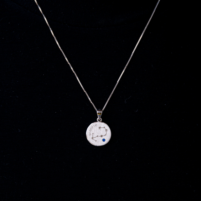 Colier Zodiac Scorpion / Scorpio - Argint 925 0