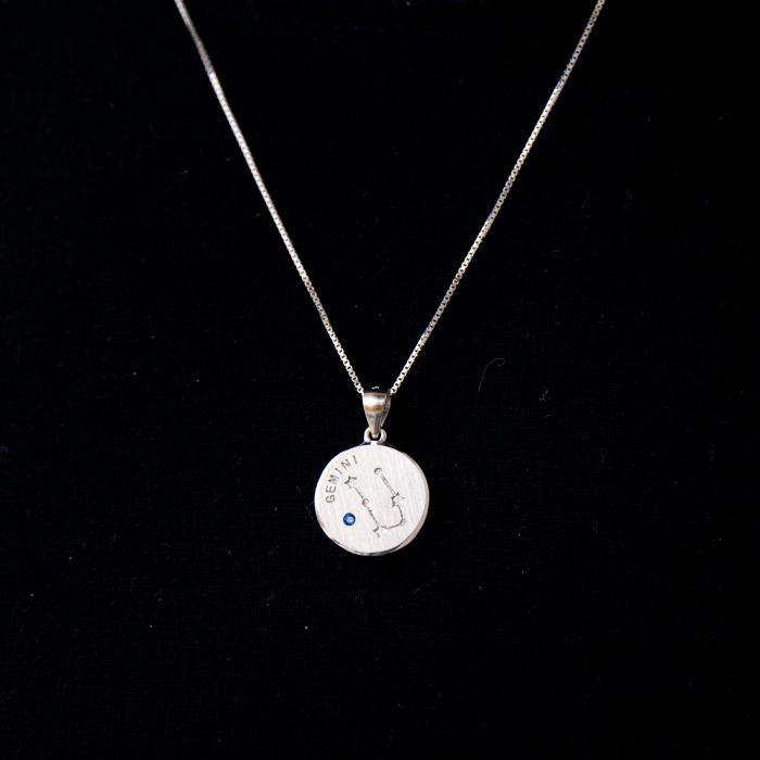 Colier Zodiac GEMENI / Gemini - Argint 925 [0]