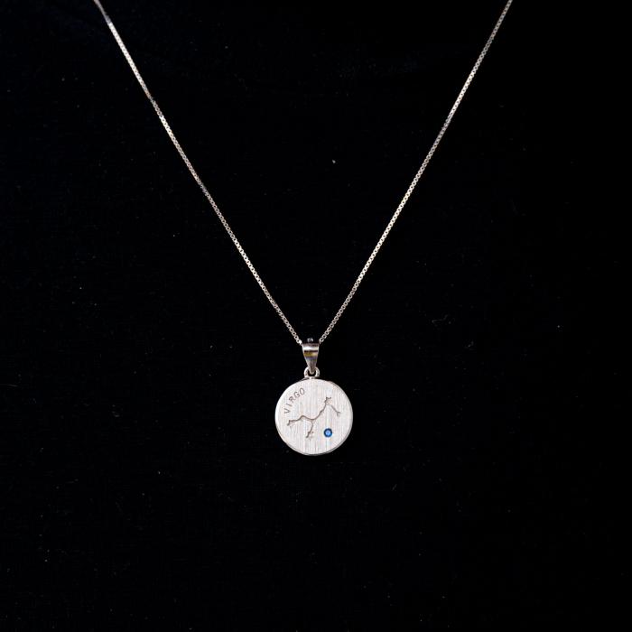 Colier Zodiac Fecioara / Virgo - Argint 925 0