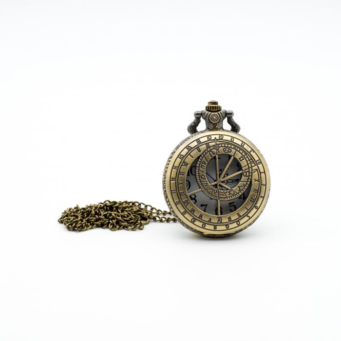 Ceas de Buzunar Puncte Cardinale - Colectia SteamWall 0