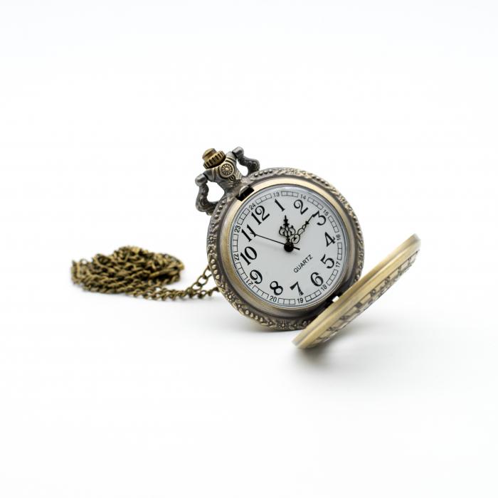 Ceas de Buzunar Puncte Cardinale - Colectia SteamWall 3