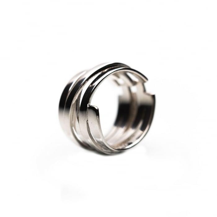 Inel TWISTED Argint 925 2