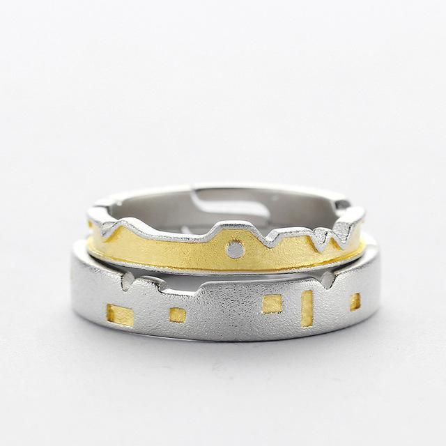 Set Inele CASTLES - Argint 925 0