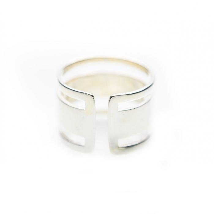 Inel Strips Argint 925 2