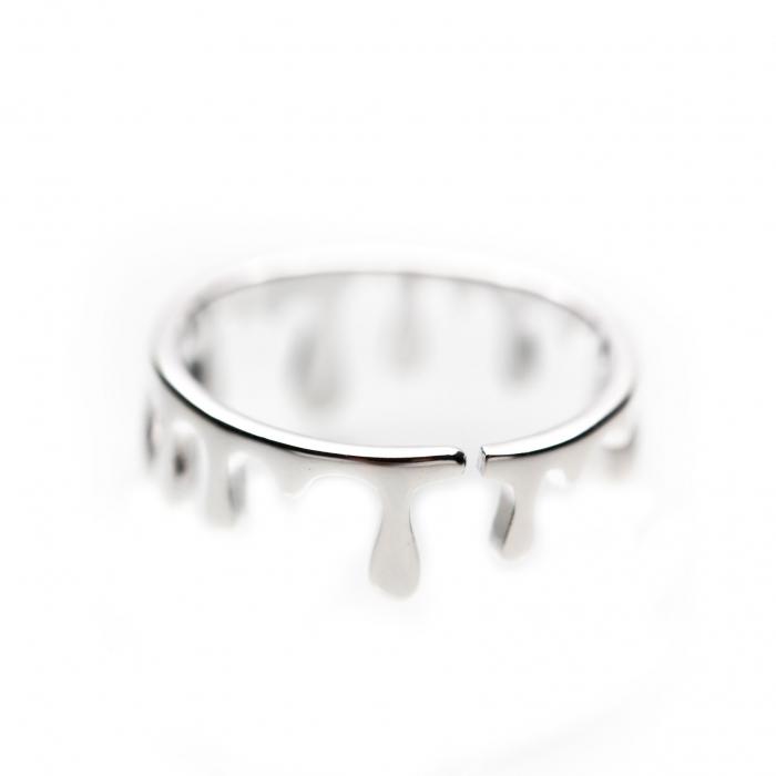 Inel Rain Drops Argint 925 3