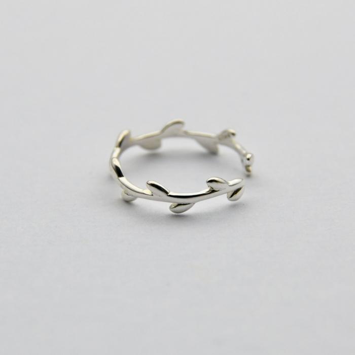 Inel LEAVES Argint 925 3