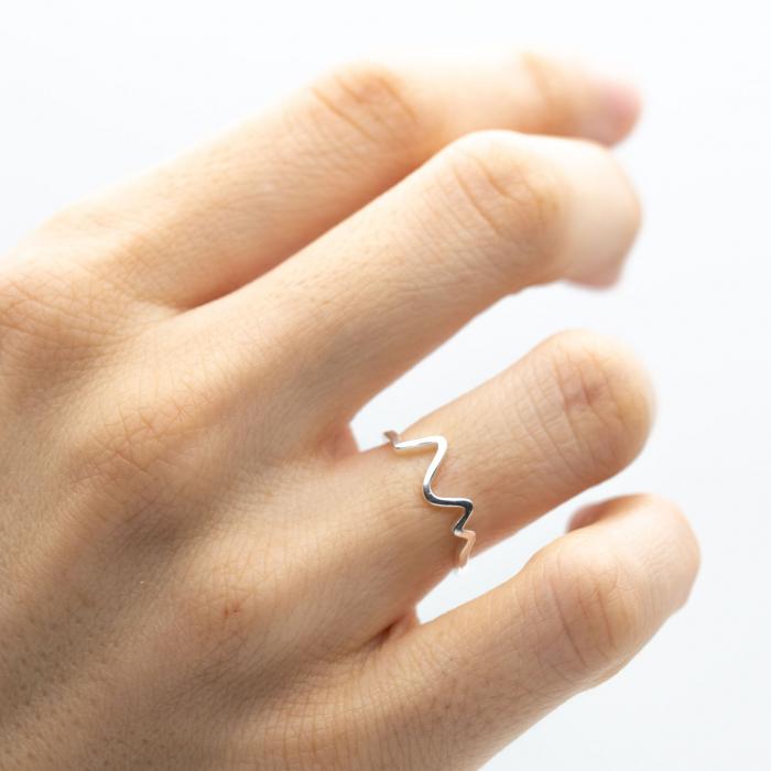 Inel Heartbeat Argint 925 0