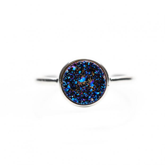 Inel Deep Blue Argint 925 2