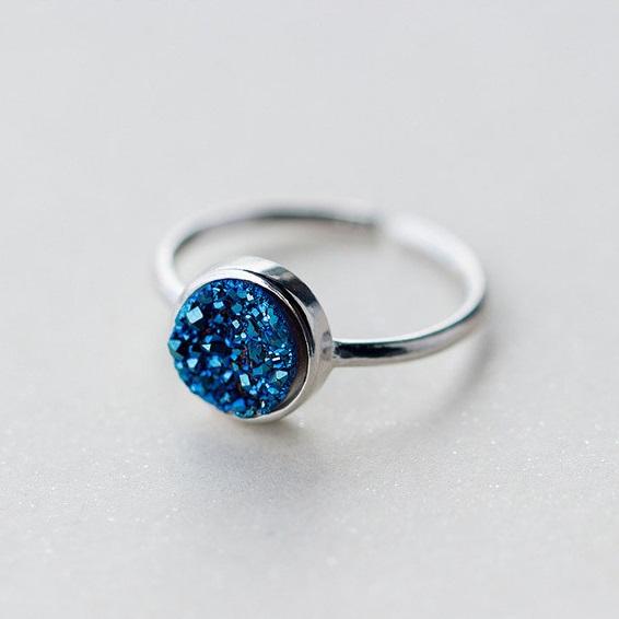Inel Deep Blue Argint 925 1