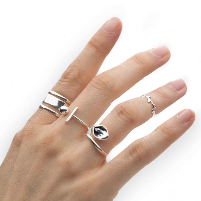Inel AGORA Argint 925 3