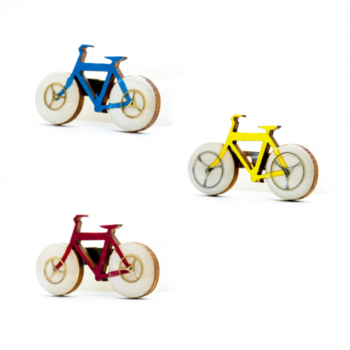 Brosa Lemn Bicicleta 0