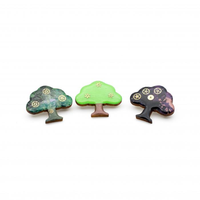 Brosa Copacul Vietii Multicolor 2