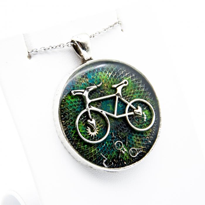 Pandantiv Bicicleta Go Green 1
