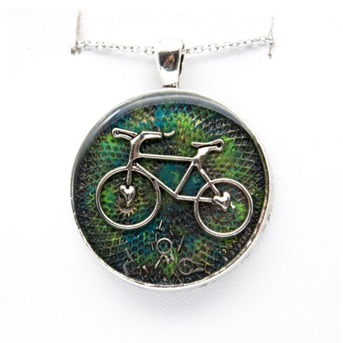 Pandantiv Bicicleta Go Green 0