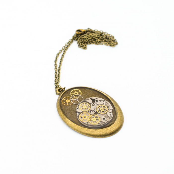 Pandantiv Auriu Vintage 1