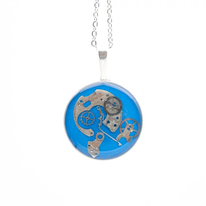 Set Bijuterii ' Blue Sapphire ' Albastru -EDITIE LIMITATA 4
