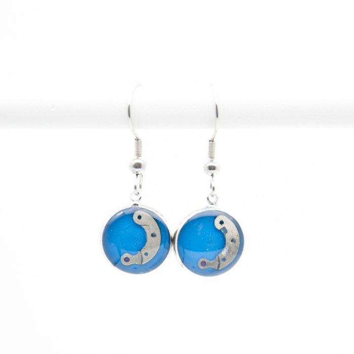 Set Bijuterii ' Blue Sapphire ' Albastru -EDITIE LIMITATA 5