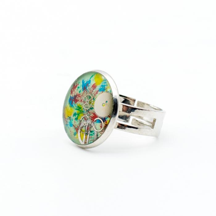 Set Bijuterii Pasare Multicolor 5