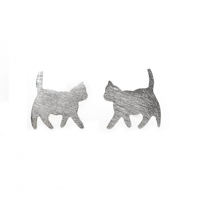 Set Cercei Pisicute - Argint 925 2