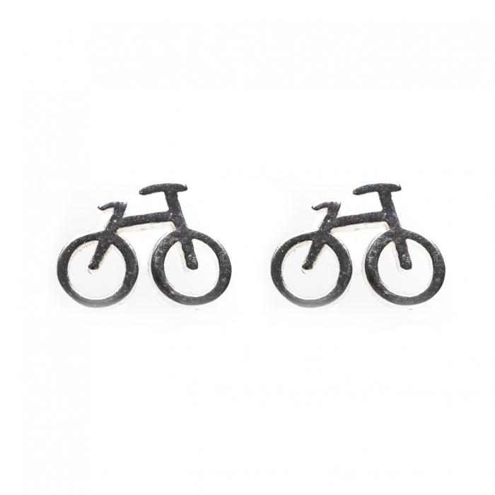 Set Cercei Bicicleta - Argint 925 1