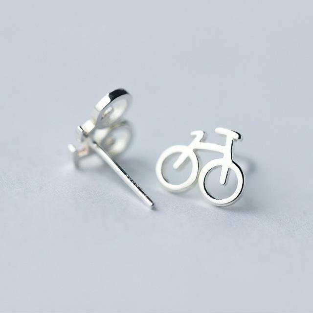 Set Cercei Bicicleta - Argint 925 3