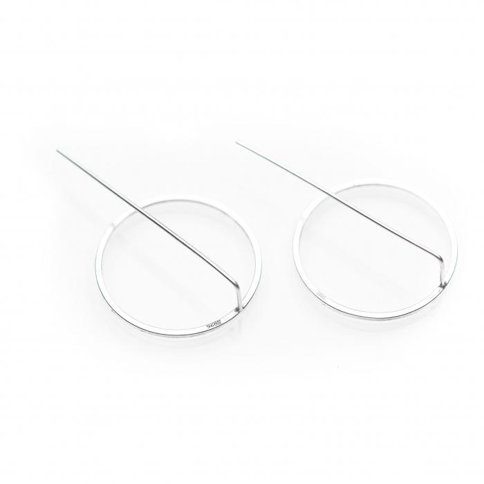 Set Cercei Circles - Argint 925 3