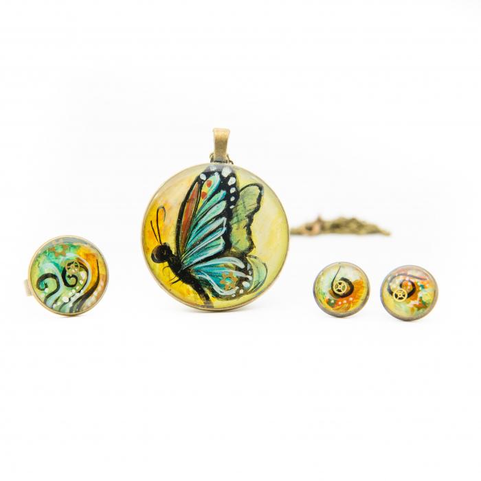 Set Bijuterii Special Butterfly 0