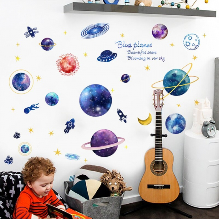 Sticker Planetarium - Colectia DecoArt Stickers [1]