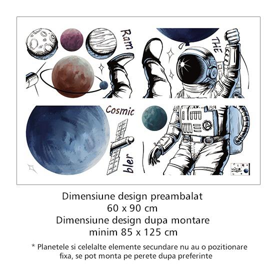 Sticker Explorator Spatial - Colectia DecoArt Stickers 1