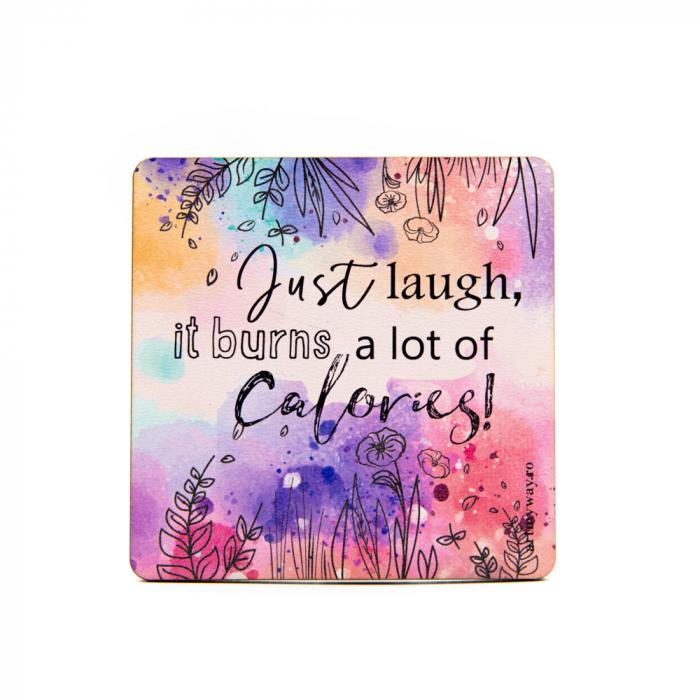 Suport pahar JUST LAUGH 0