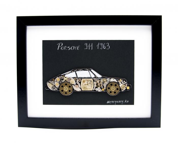 Tablou Porsche 911 1963 - Colectia ART my Cars 0