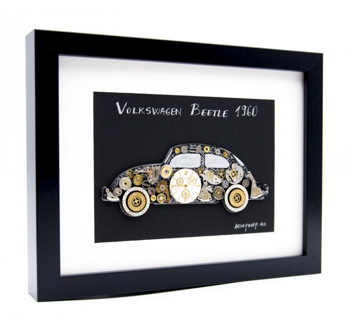 Tablou Volkswagen Beetle 1960  Colectia ART my Cars 1