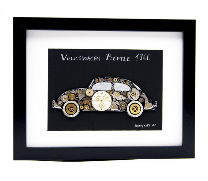 Tablou Volkswagen Beetle 1960  Colectia ART my Cars 0