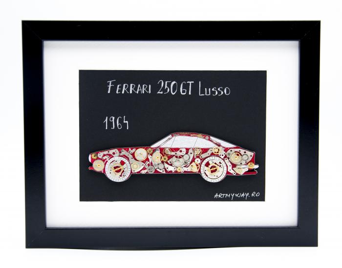 Tablou Ferrari 250GT Lusso 1964 - Colectia ART my Cars 0