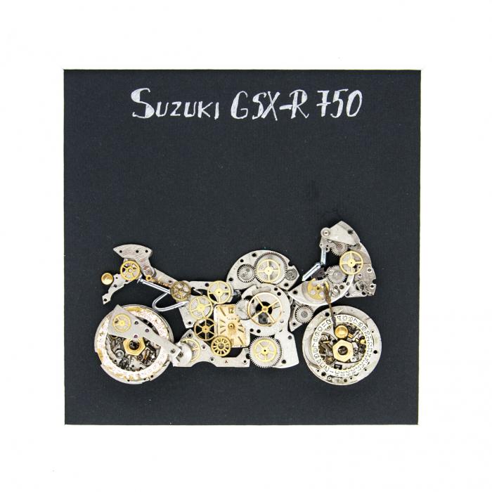 Tablou Suzuki GSX-R 750 Motorcycle - Colectia Born to Ride 1