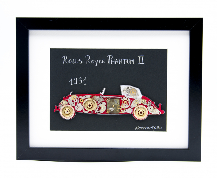 Tablou Rolls Royce Phantom II 1931  Colectia ART my Cars 0