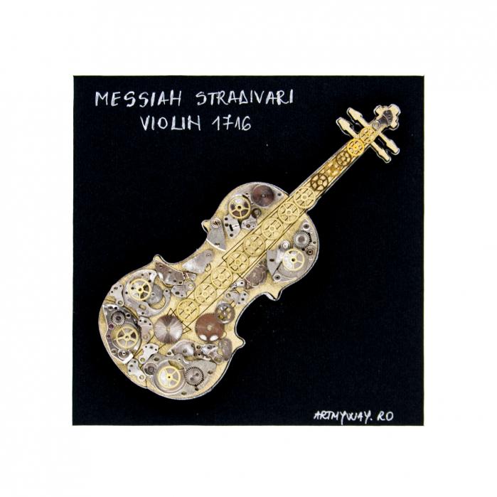 Tablou Messiah Stradivari 1716 - Vioara Colectia SteamWall 3