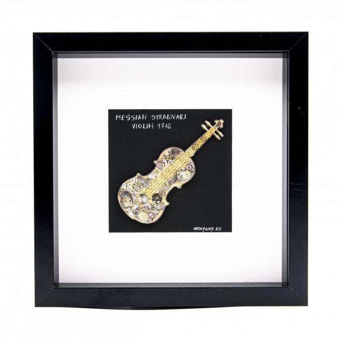 Tablou Messiah Stradivari 1716 - Vioara Colectia SteamWall 0