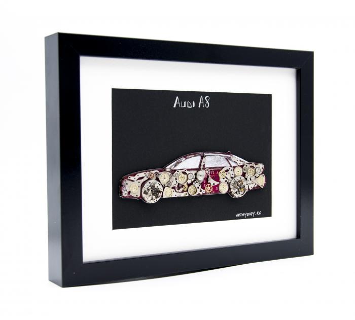 Tablou Audi A8  Colectia ART my Cars 2