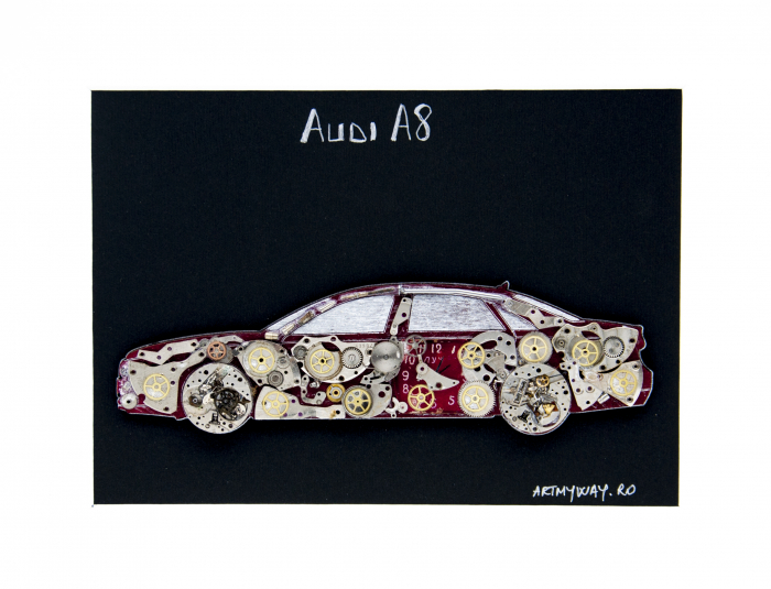 Tablou Audi A8  Colectia ART my Cars 3
