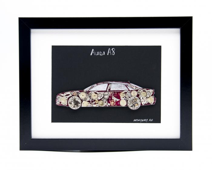 Tablou Audi A8  Colectia ART my Cars 0